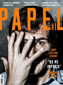 Revista Papel Iker Casillas